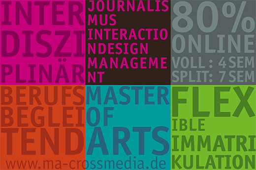 Cross Media: Journalismus, Interaction Design, Management