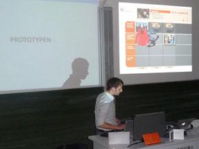 Cross-Media-Projektpräsentation am 08.07.2011