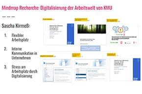 Recherche zu Digitalisierung bei KMU